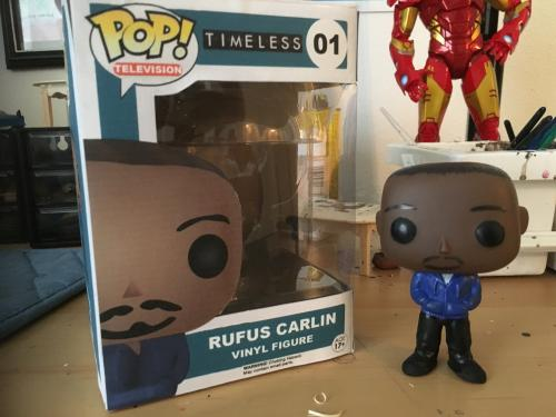 Rufus Carlin (with box)