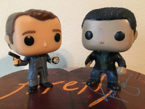 Det. Kevin Ryan and Det. Javier Esposito