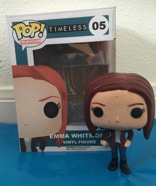 Emma Whitmore (with box)