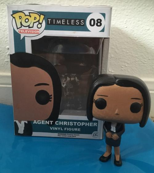 Agent Denise Christopher (with box)