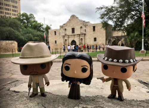 Alamo Time Team (in front of the Alamo!)