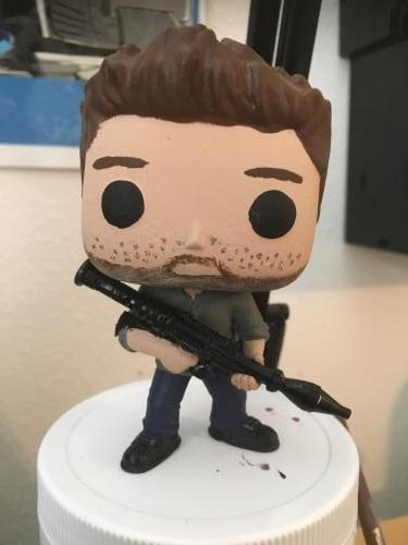 Dean Winchester with grenade launcher